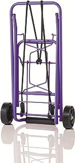 Travel Smart by Conair Folding Multi-Use Cart, Purple
