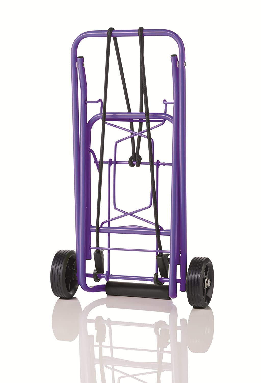 0017b220e762 Travel Smart by Conair Folding Multi-Use Cart, Purple
