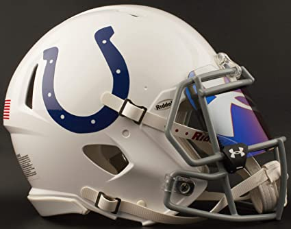 bb293154 Amazon.com : Riddell Indianapolis Colts Full Size NFL Football ...