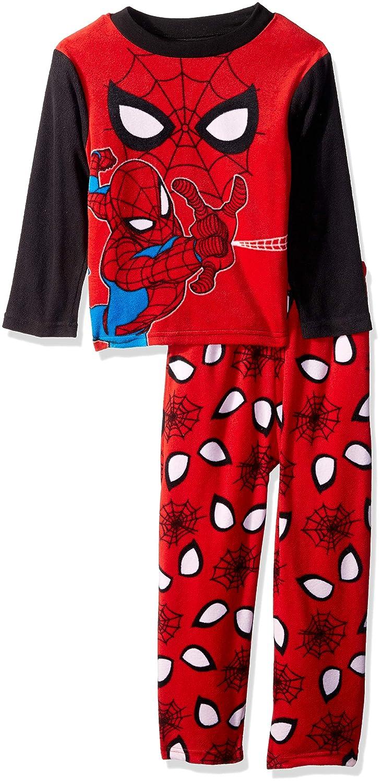 Marvel Boys' Spiderman 2-piece Fleece Pajama Set S6BLLF