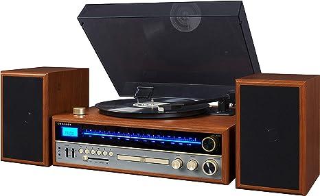 Amazon.com: Crosley 1975T - Sistema de mesa giratoria con ...