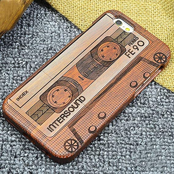 deb13ee15856 Image Unavailable. Image not available for. Color  NAMEO iPhone 6S Plus  Wood Case ...