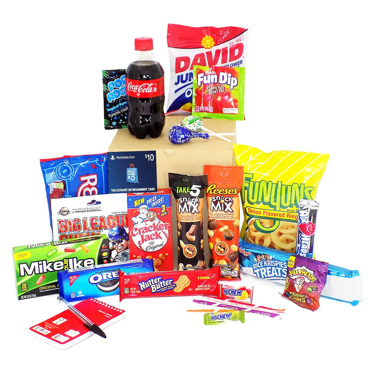 Video Gamer Gift Basket Care Package - For the Gamer in Your Life! (Playstation Network)