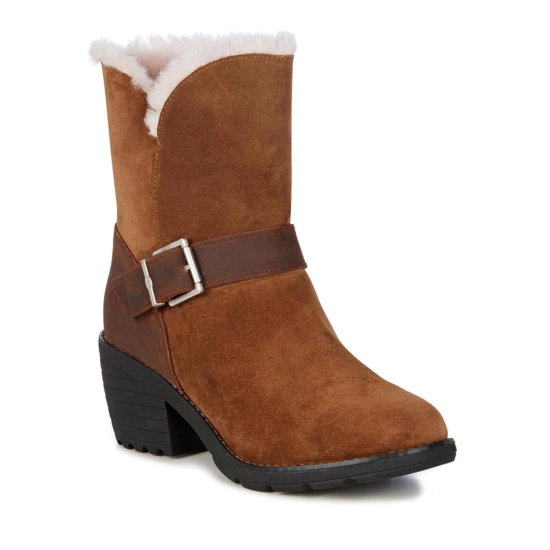 EMU Australia Colebrook Womens Waterproof B(M) Sheepskin Boots B0742HX7LK 10 B(M) Waterproof US|Oak 3b8068