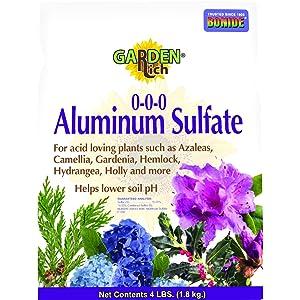 Bonide PRODUCTS INC 705 037321007050 Aluminum Sulfate, 4 Pound Multi