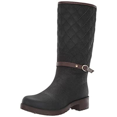 Aerosoles - Women's Martha Stewart Cross River Boot - Water Resistent Rain Boot with Memory Foam Footbed: Shoes