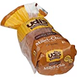 Udis Gluten Free Millet Chia Loaf Bread, 14.2 Ounce -- 8 per case.