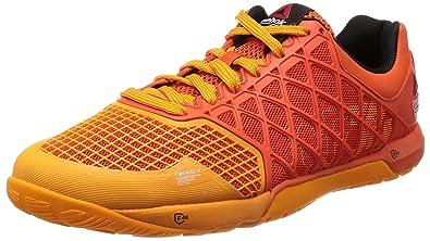 3e6aa792b053 Image Unavailable. Image not available for. Colour  Reebok Men s R Crossfit  Nano 4.0 Flux Orange and Hazard Orange Mesh Multisport Training Shoes -