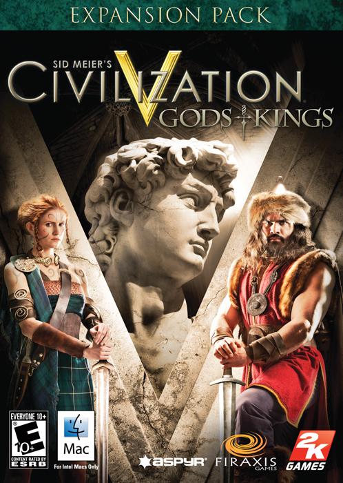 Sid Meier's Civilization V: Gods and Kings [Online Game Code] by Aspyr