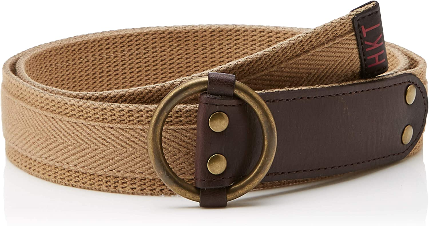 HKT by Hackett London Hkt Washed Canvas Belt Cinturón para Hombre