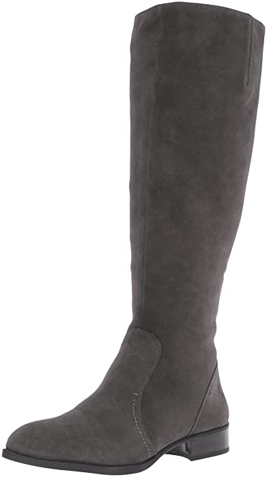 a10e4af7392 Nine West Women's Nicolah-Wide Suede Knee-High Boot