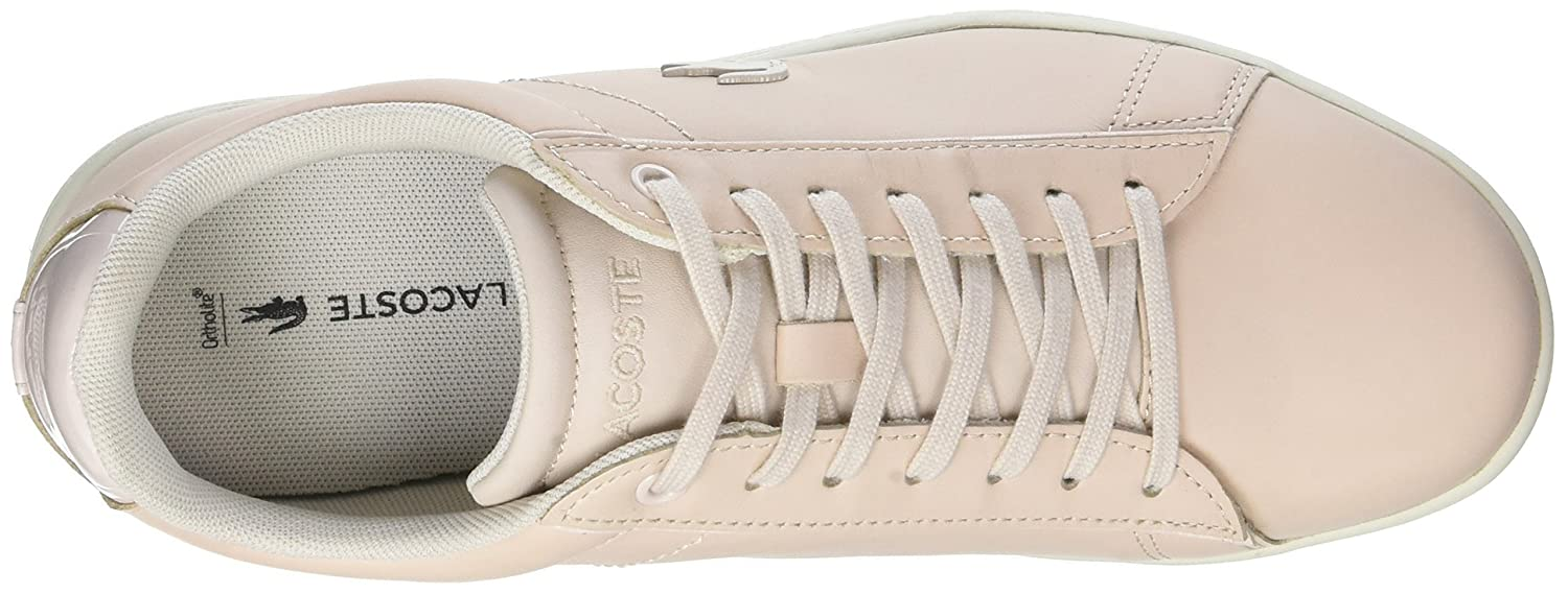 6db769f13 Lacoste Women s Carnaby Evo 417 1 SPW Lt Low-Top Sneakers  Amazon.co.uk   Shoes   Bags