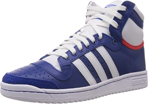 adidas Top Ten Hi, Baskets mode mixte adulte, Bleu