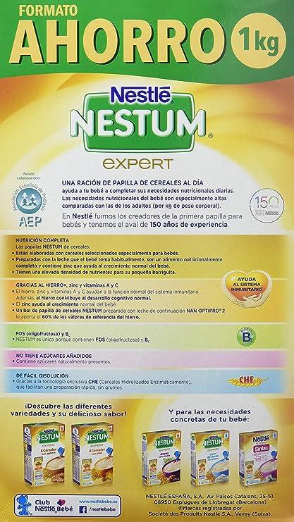 NESTLE - NESTUM 8 CEREALES 1000G: Amazon.es: Alimentación y ...