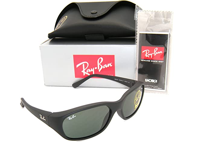 a86880b016 Image Unavailable. Image not available for. Colour  Authentic Ray-Ban RB  2016 Daddy-O W2578 59mm Matte Black with Green G