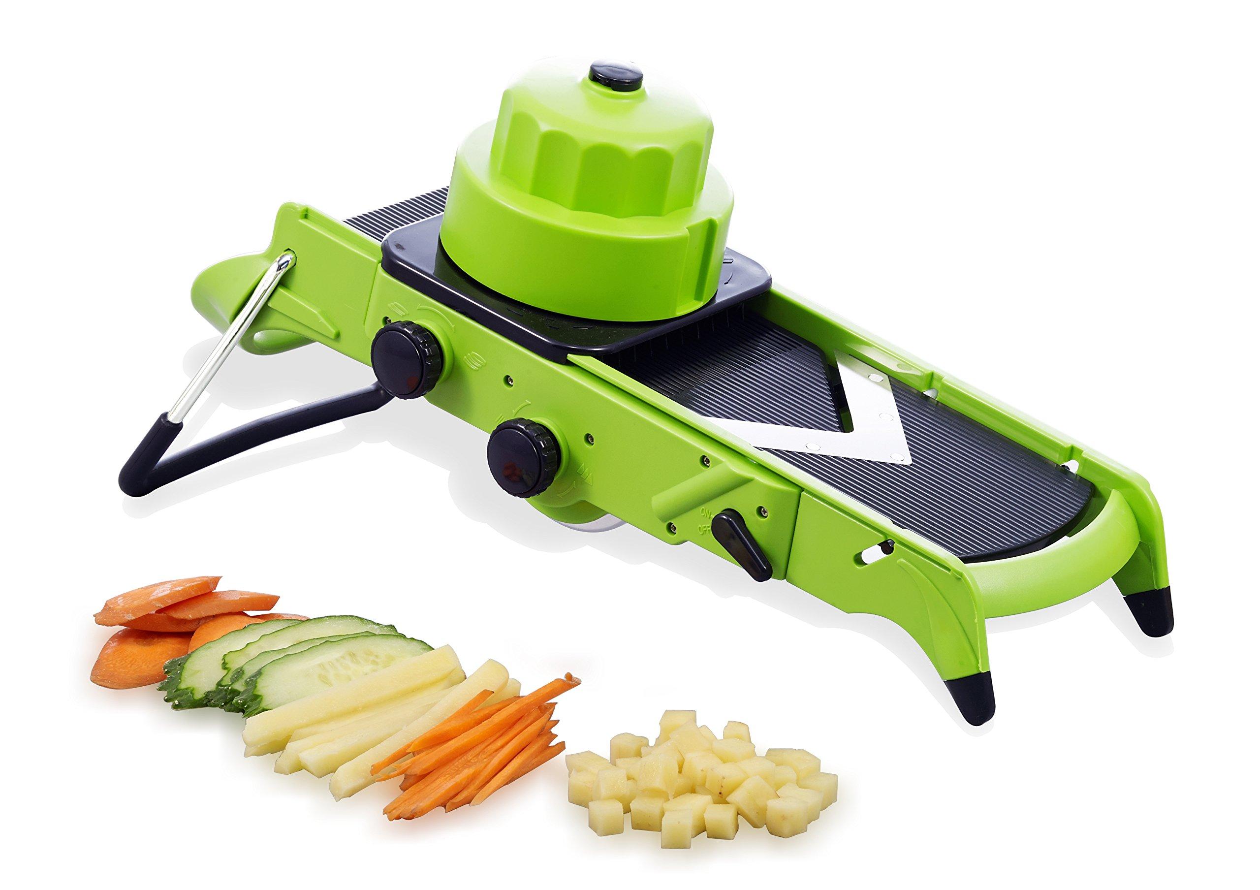mandoline slicer vegetable chopper 3 in 1 mandoline set slice julienne 696563358001 ebay. Black Bedroom Furniture Sets. Home Design Ideas