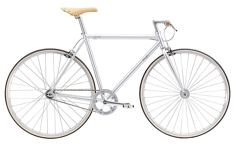 FUJI(フジ) STROLL 49cm シングル SILVER クロスバイク 2018年モデル 18STRLSV SILVER 49cm   B075SYVRJG