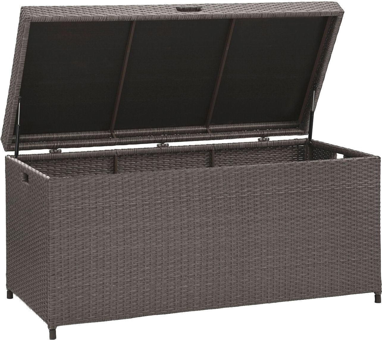 Crosley Furniture Palm Harbor Outdoor Wicker Storage Bin - Grey CO7300-WG