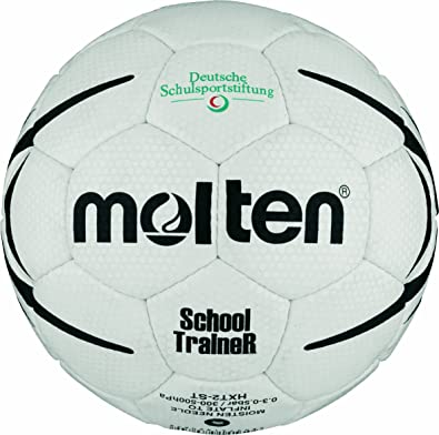 MOLTEN HXST2 - Pelota de Balonmano, Color Blanco, Talla 2: Amazon ...