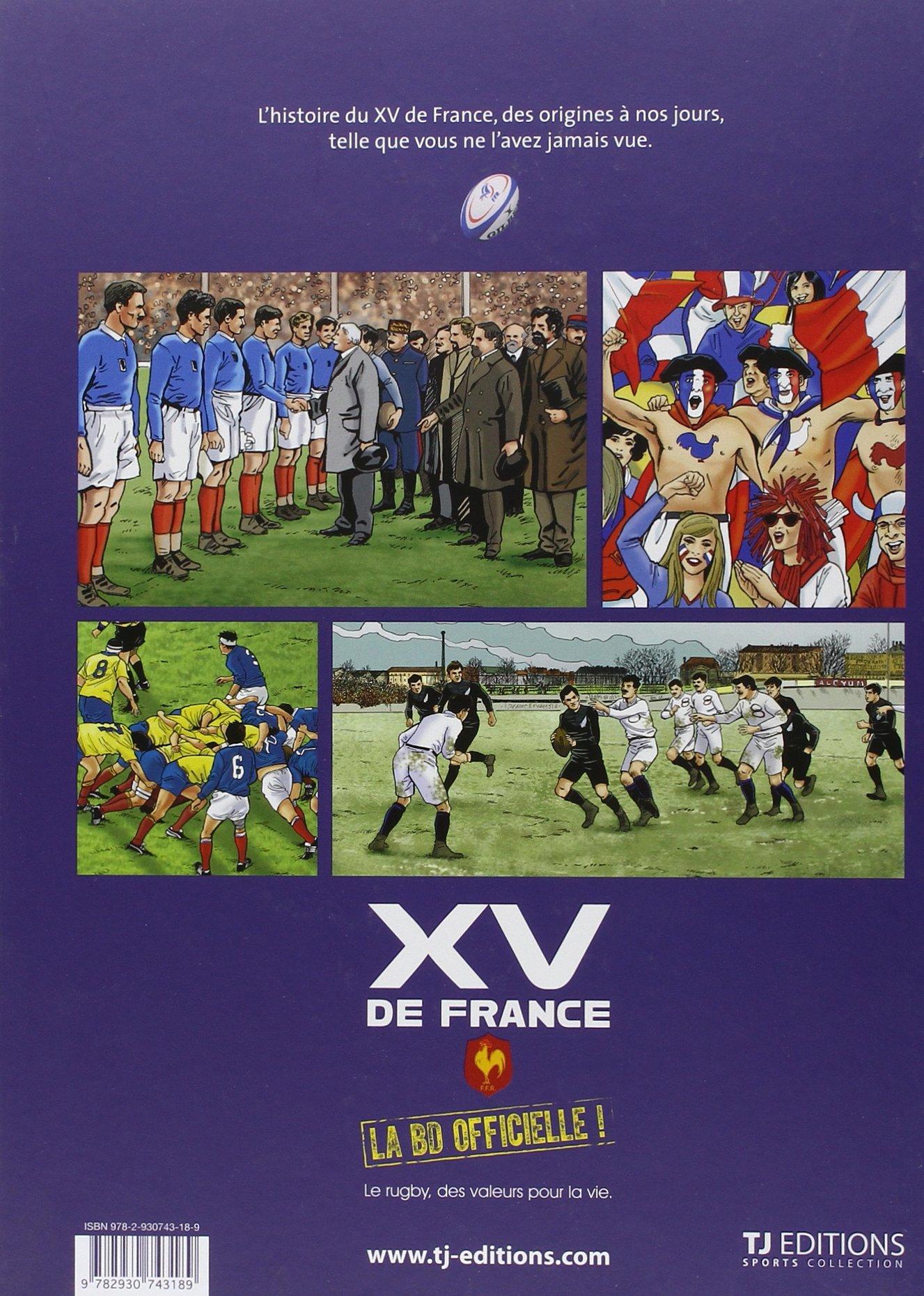 XV de France - la BD officielle volume 1: Amazon.fr: Philippe Glogowski,  Liera: Livres