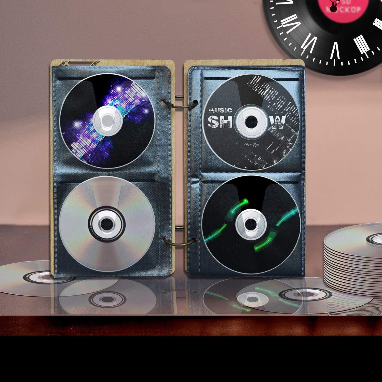 PETAFLOP Estuche de CD/DVD/BD para 68 Piezas: Amazon.es: Hogar
