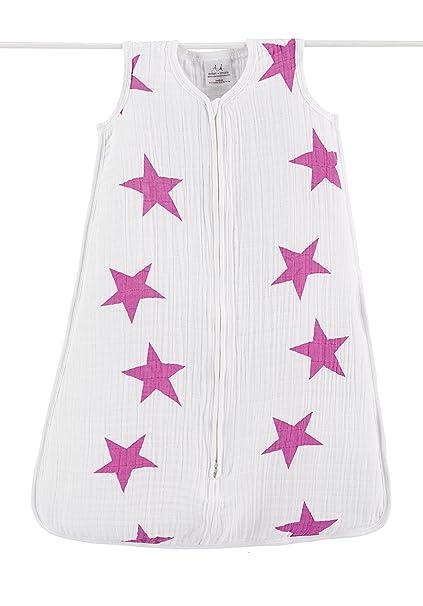aden + anais Twinkle – Classic – Saco de dormir (tamaño grande, rosa)