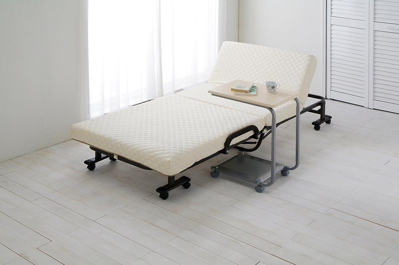 マットレス付き折りたたみベッド