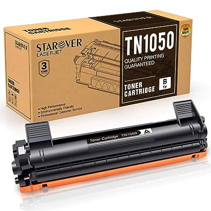 STAROVER 1x TN1050 TN-1050 Cartucho De Tóner Negro Compatible Para Brother HL-1110 DCP-1510 HL-1210W DCP-1610W HL-1112 MFC-1810 HL-1212W MFC-1910W ...