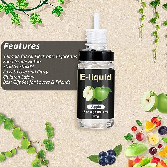 E-liquidos, E Liquido Vaper Sin Nicotina 12 x 10 ml, E Cigarette ...