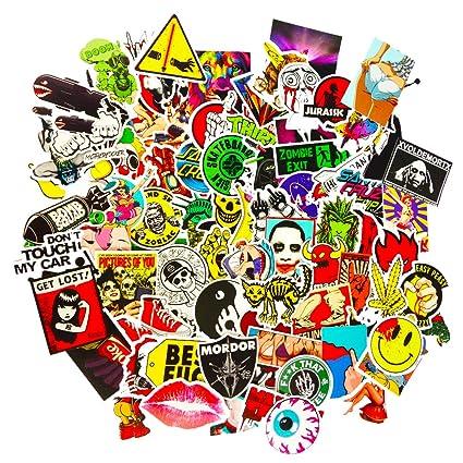 amazon com dreamergo cool graffiti stickers 100 pieces various car