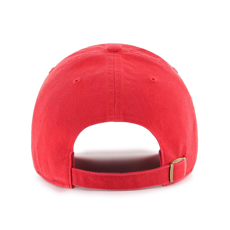 OTS NFL New England Patriots Mens Challenger Adjustable Hat Team Color One Size