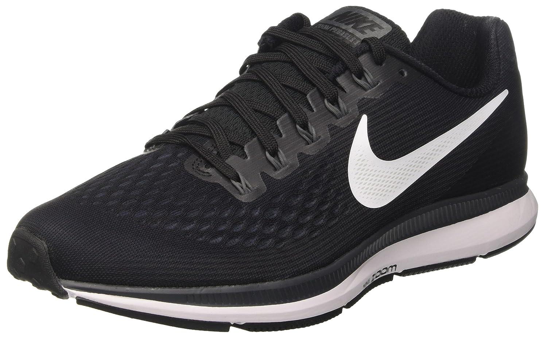 Noir (Noir grisfoncé Anthracite Blanc) 45 1 3 EU Nike Air Zoom Pegasus 34, Chaussures de FonctionneHommest Homme