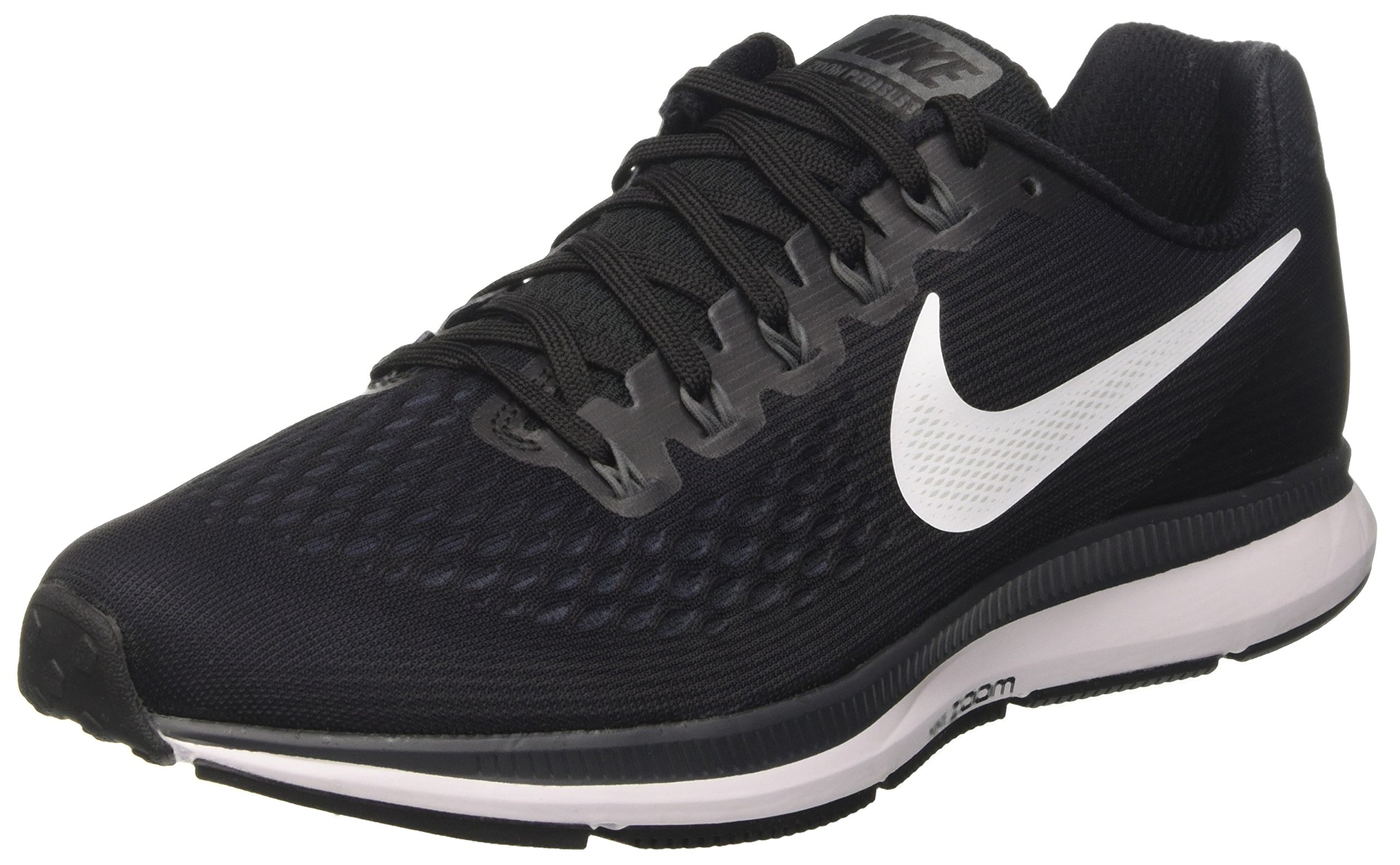 NIKE Men's Air Zoom Pegasus 34 Running Shoe (10 D(M) US, Black/Dark Grey/Anthracite/White) by NIKE