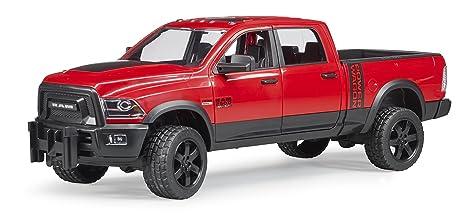 Bruder 02503 Ram 2500 Power Wagon mit Anhänger Spielzeug Auto NEU Spielzeugautos