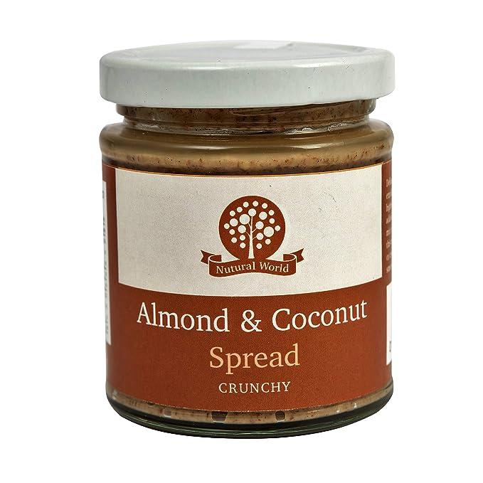 Nutural World -Aderezo de coco y almendra crujiente (170g)