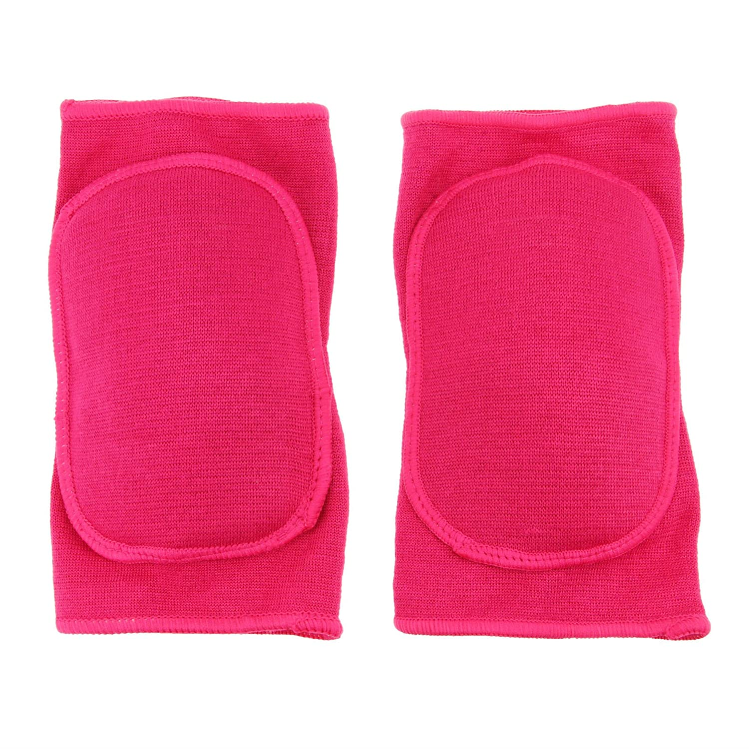 Clobeau Kids Protective Knee Pads, Stretchy Cotton Thicked Breathable Antislip, Collision Avoidance Keedpads Knee Sleeve Brace Support Protector Pad Wrap Tape for Kids Sports Dancing