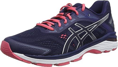 asics womens running shoes navy womens