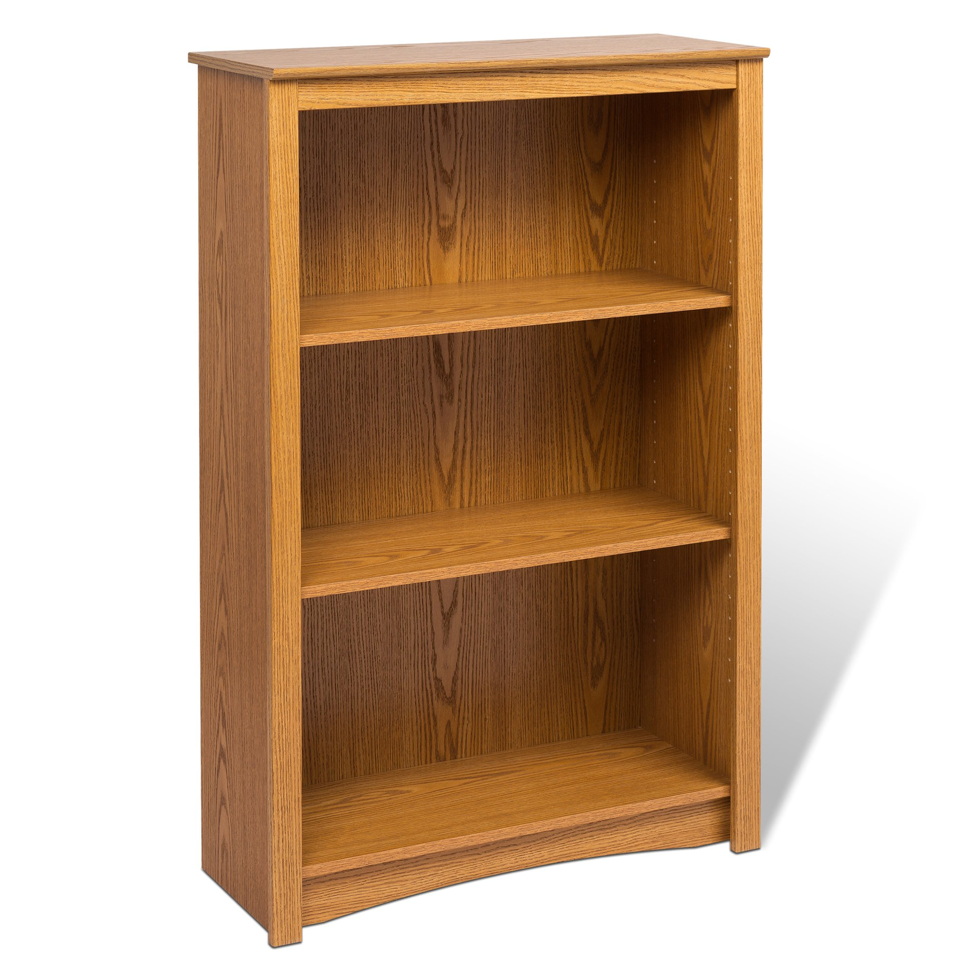 Prepac Oak 4-shelf Bookcase