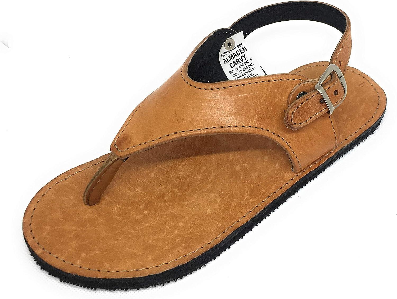 Sandalias de Dedo para Mujer Exclusivas ARTESANAS Garantía Cuero Hechas y PINTADAS A Mano
