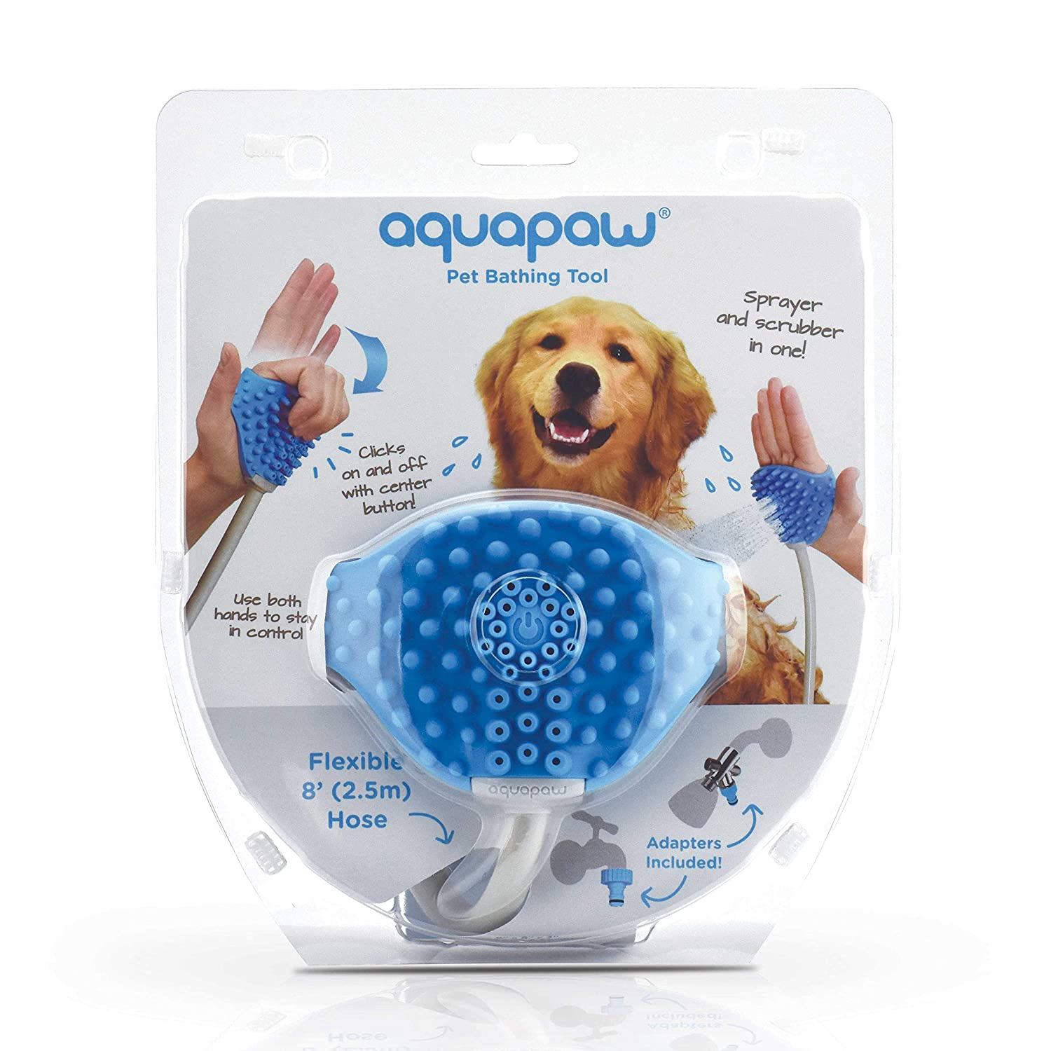 4810a7a3f6   Amazon.com  Aquapaw Pet Bathing Tool