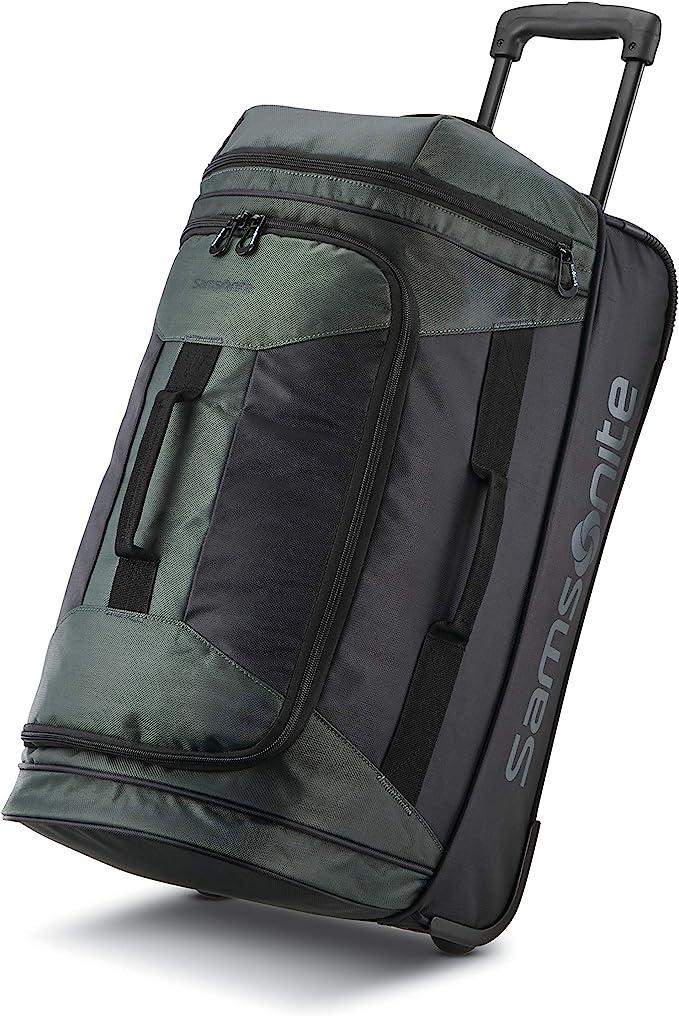 Samsonite Andante 2 22″ Drop Bottom Wheeled Rolling Duffel Bag