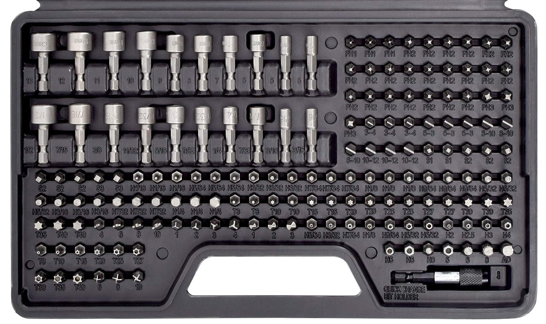 Amazon.com: Juego de puntas de destornillador de 208 piezas ...