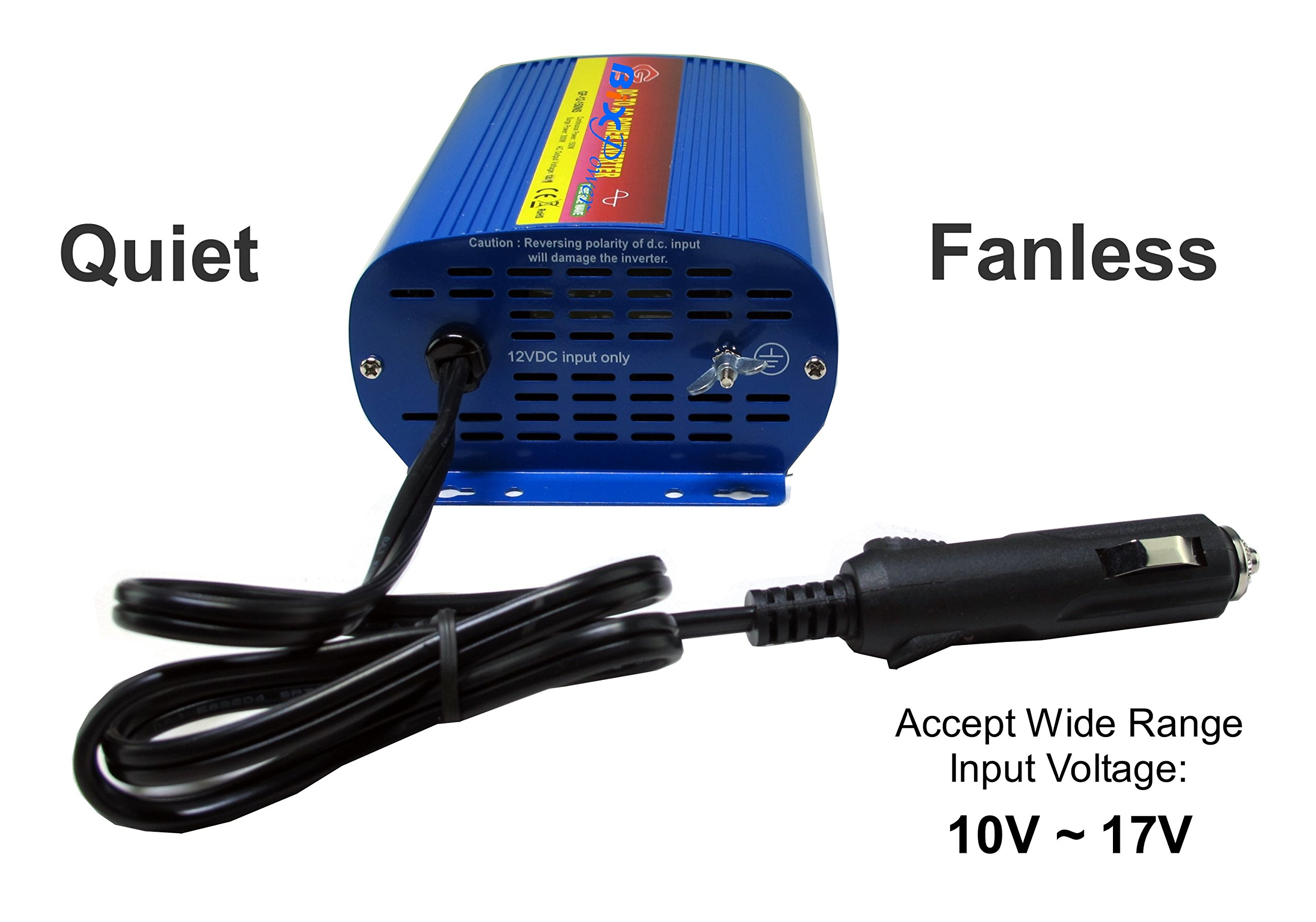BiXPower XP200 Pure Sine AC Power Pack - 150W Pure Sine Wave AC Power Inverter with 192Wh Lithium Ion Battery by BiXPower (Image #6)