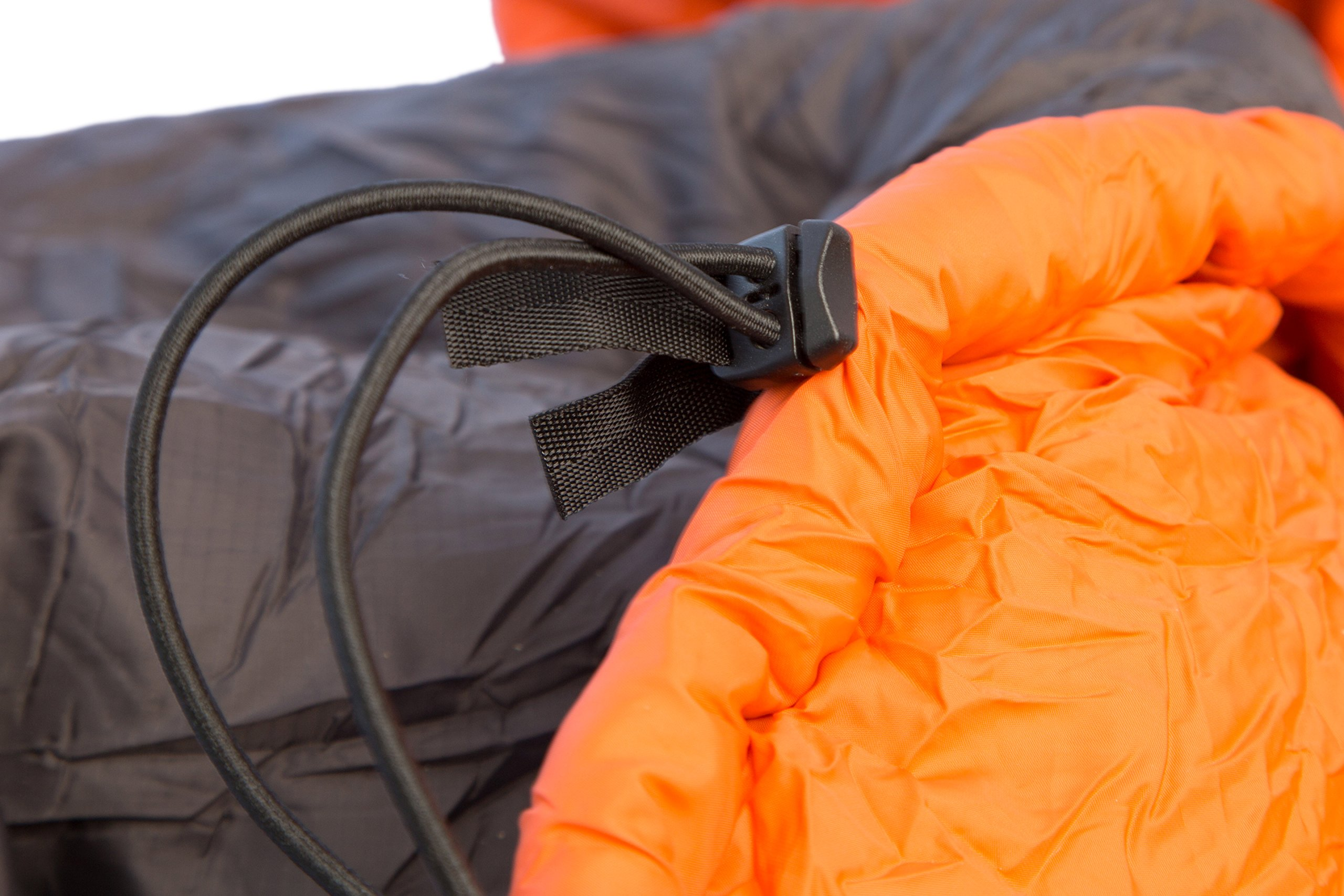 ENO Eagles Nest Outfitters - Vulcan Underquilt, Ultralight Camping Quilt, Orange/Charcoal by Eagles Nest Outfitters (Image #4)