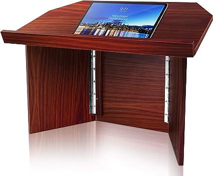 Pyle portátil atril podio | mesa de presentación soporte ...