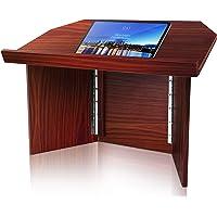 Foldable Desktop Lectern Podium Stand-Portable Folding Tabletop Desk Teacher Speaker Lecture Classroom Presentation…