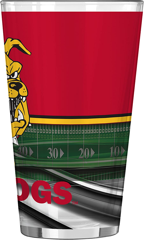 16-ounce NCAA Ferris State Bulldogs Field Pint