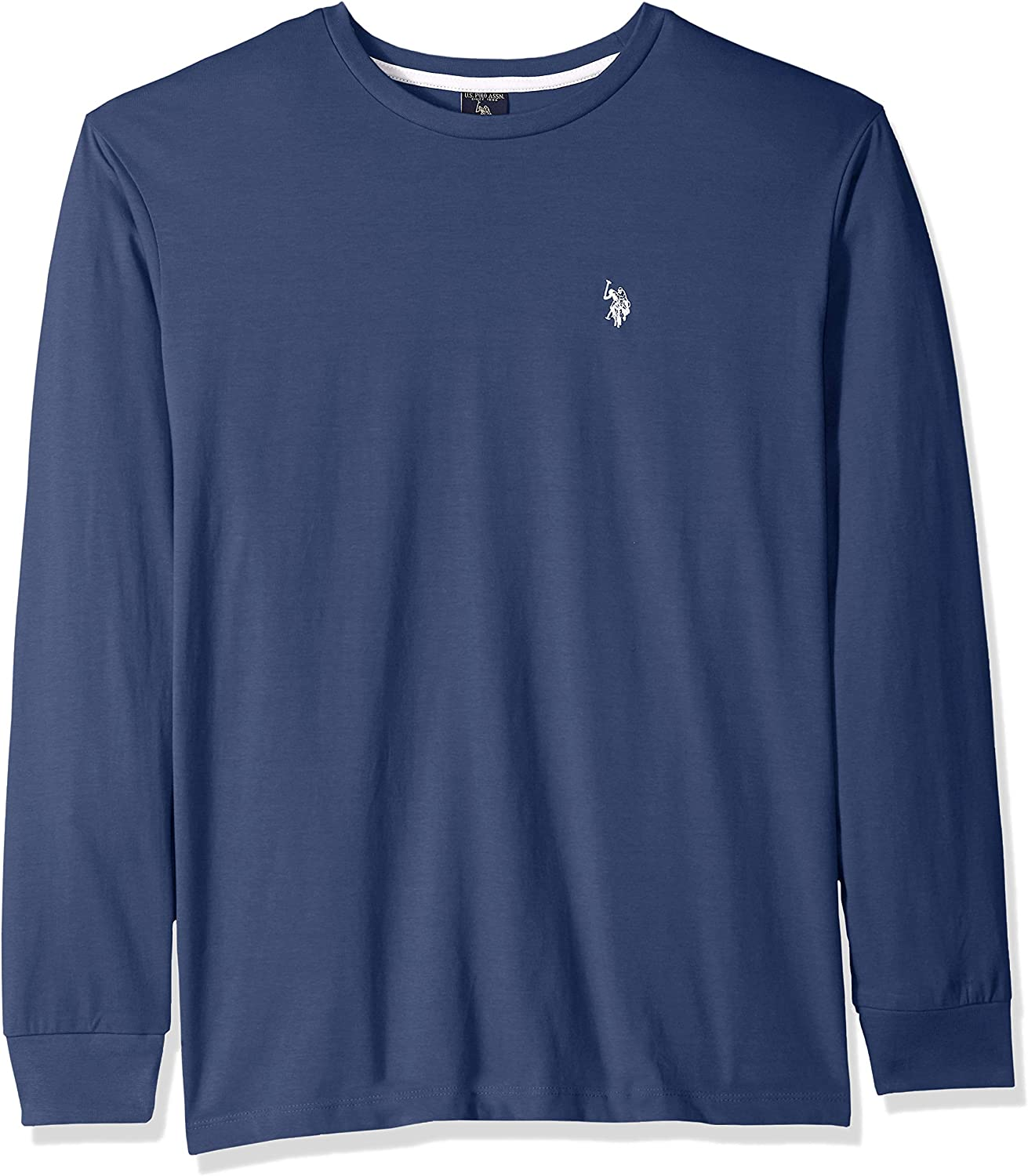 Boys/' Long Sleeve Solid Crew Neck Thermal 6 Colors to choose Polo Assn NWT U.S