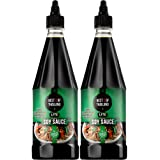 Premium Dark Soy Sauce Lite and Low Sodium | 2 Bottles of Dark Soy Sauce 23.65oz Real Authentic Asian-Brewed Marinade for Mar