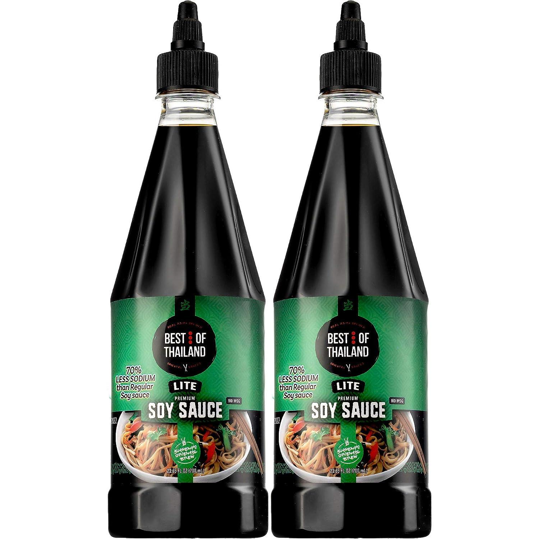 Premium Dark Soy Sauce Lite and Low Sodium